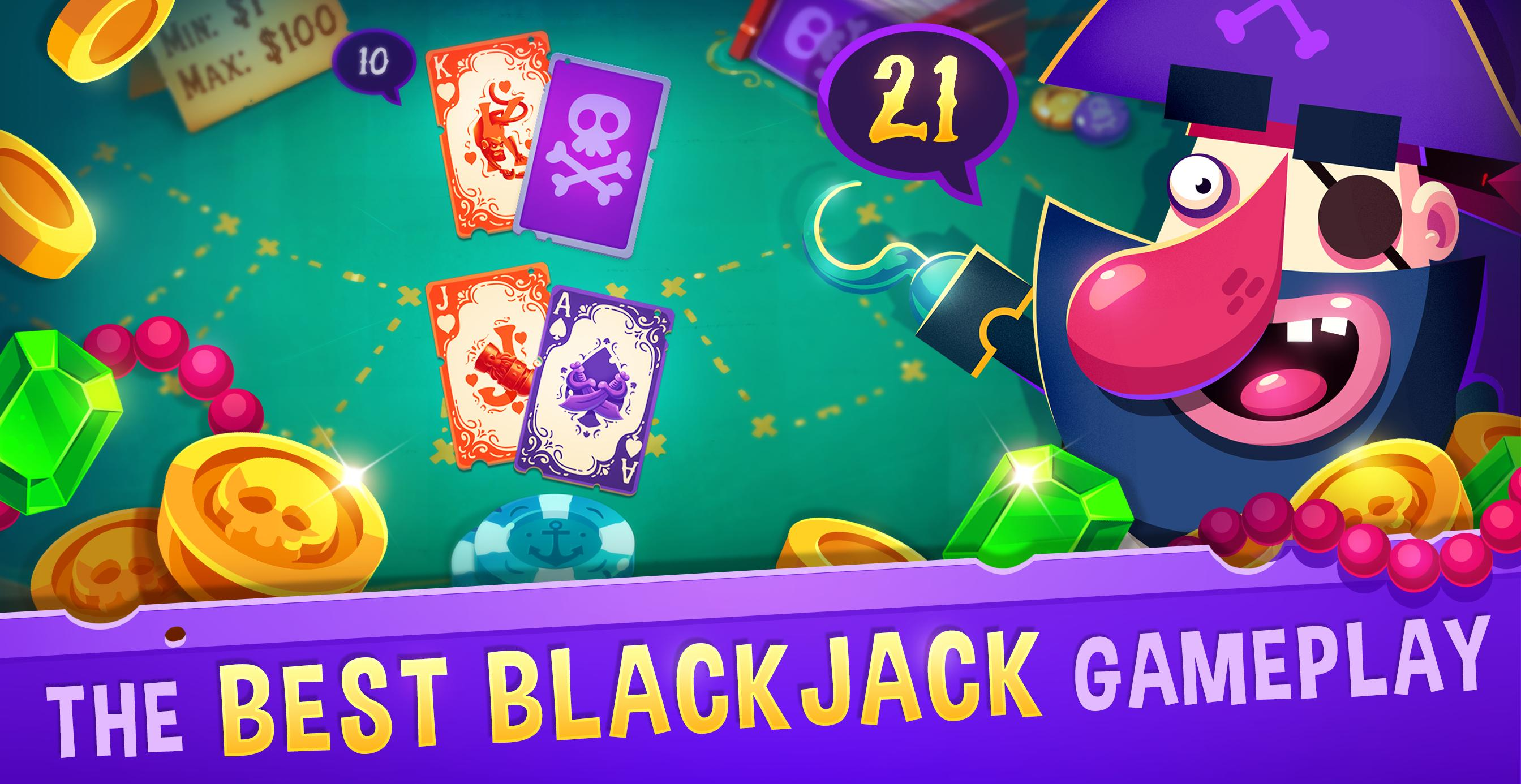 Blackjack 21 - Pirate Black Jack! Sangat Bisa Dimainkan Siapa Pun